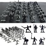 500pcs Military Plastic Toy Soldier Army Men Figures & Accessories Playset Soldier Model Sandbox Game Model Toy For Kids Boys Jade White Toys & Hobbies